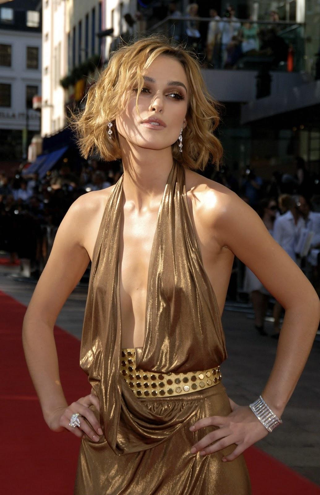 Keira Knightley: Keira Knightley breast pics