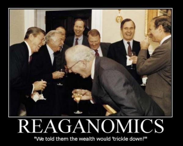 reaganomics trickel down
