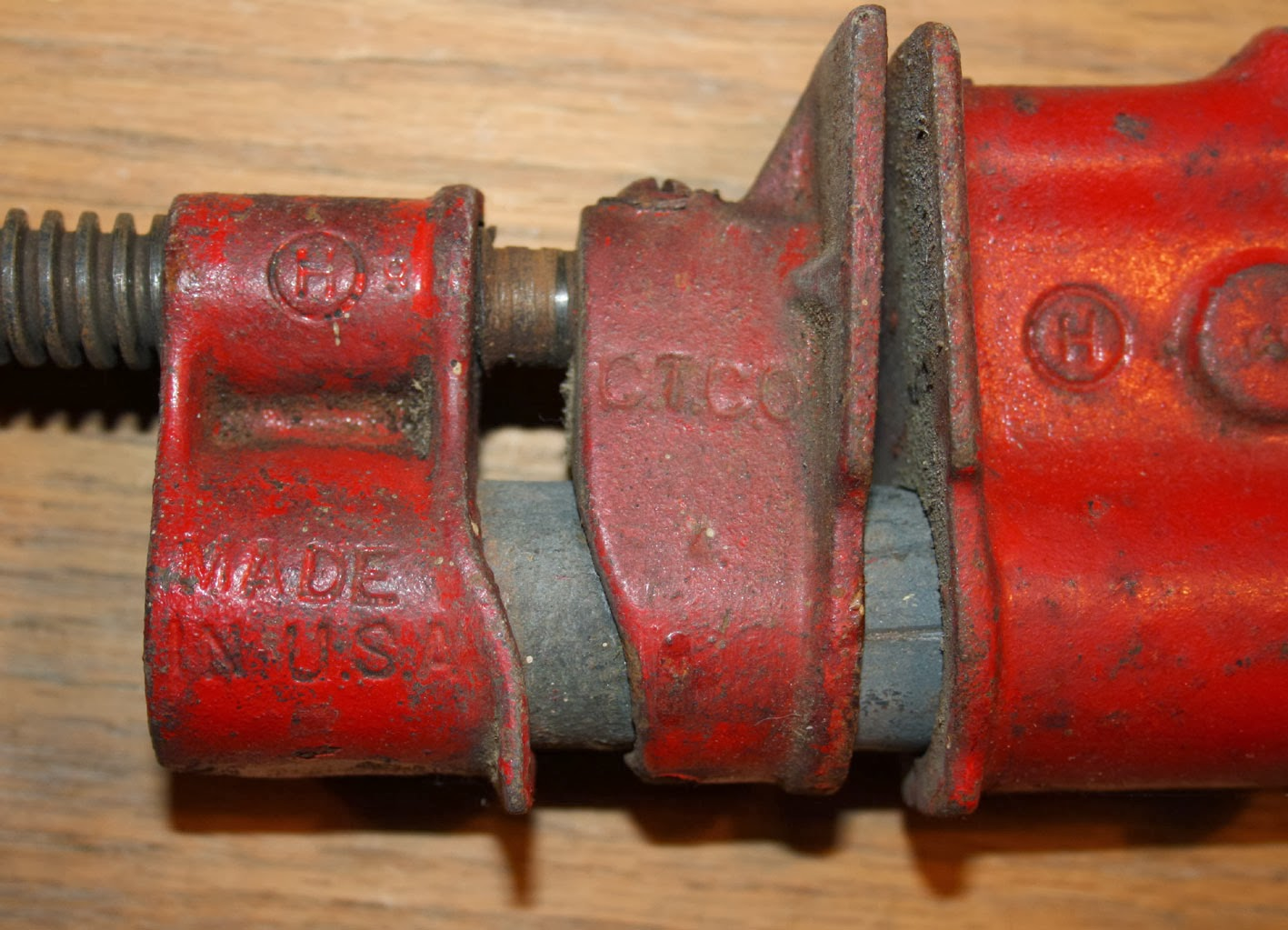 Progress is fine, but it's gone on for too long.: Bar and pipe clamps