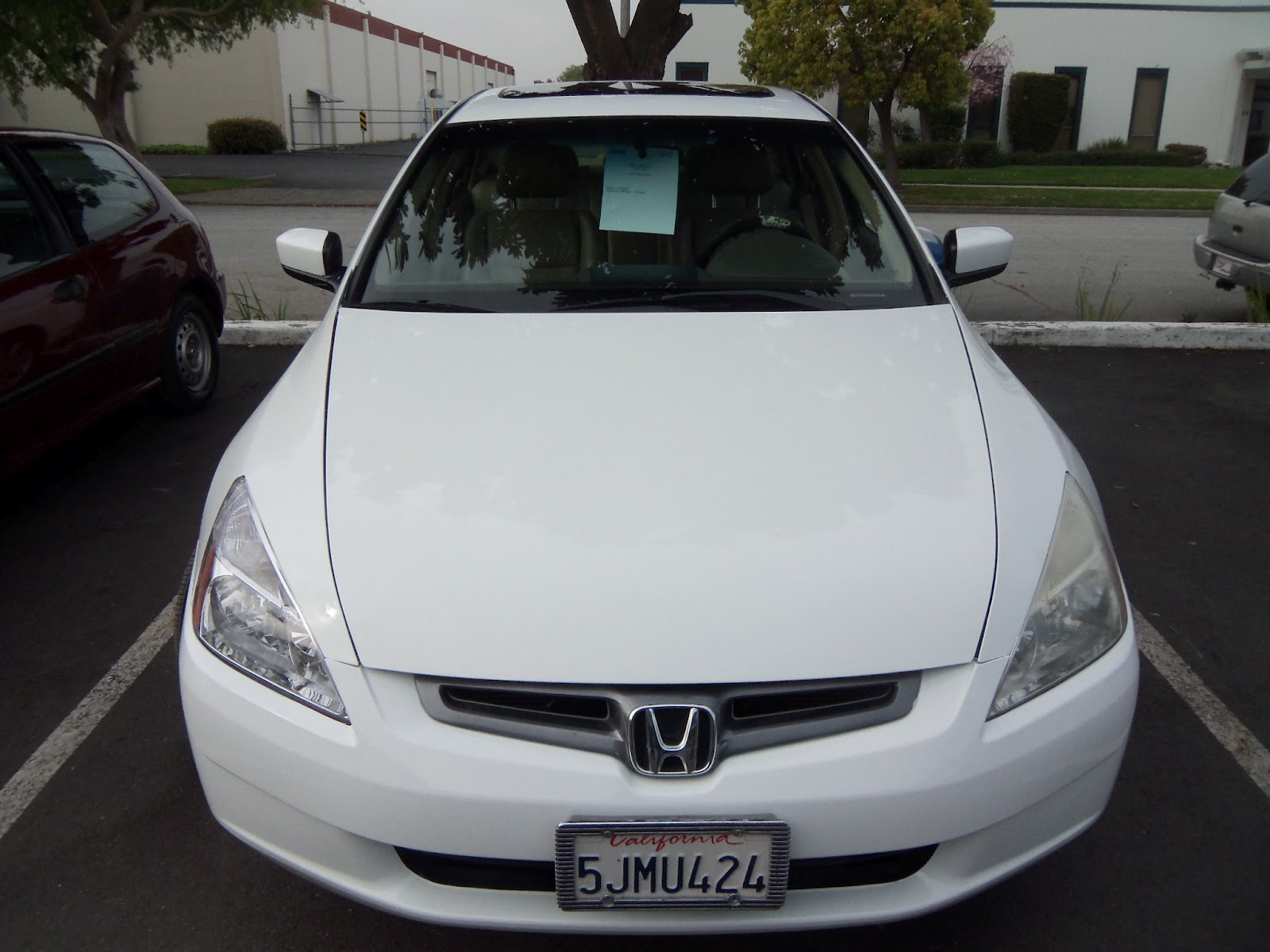 Auto Body-Collision Repair-Car Paint in Fremont-Hayward-Union City-San Francisco Bay: 2004 HONDA ...
