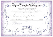 My Copics Designer Certificate