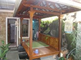 Saung Bambu Saung Kayu Pembuat Saung Tukang Saung