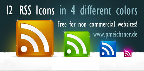 rss icons by curtivearticide 100+ Amazing Free RSS Feed Icons Set Download