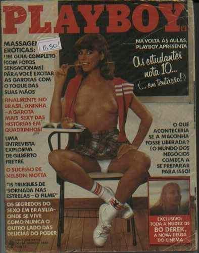 Confira as fotos da atriz americana, Bo Derek, destaque da Playboy de março de 1980!
