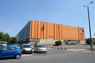 Messehalle 7 - heute Soccerworld - Sporthalle mit 9 Courts