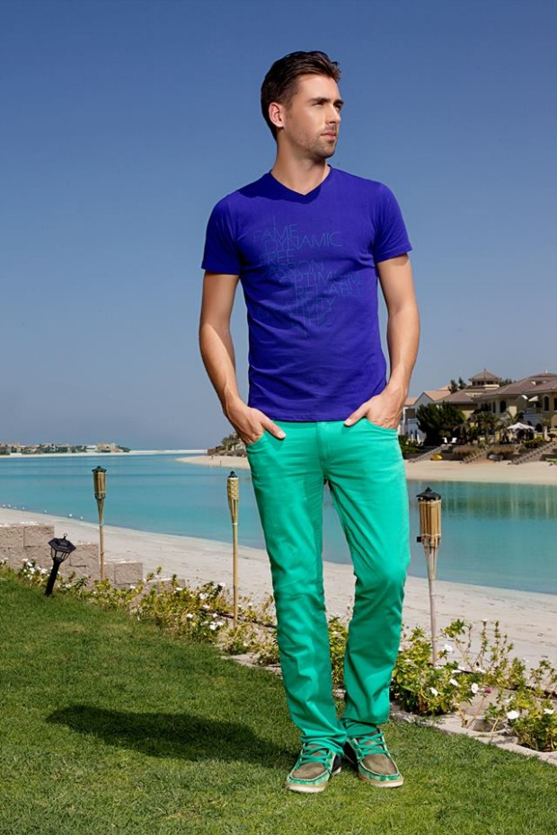 Forecast Look Book Summer Men Outfits 2014 Fahionable of T-Shirts ...