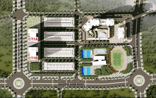 Phối cảnh dự án Hải Đăng City – HD Mon