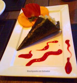 Zen Comida Japonesa: Temaki Vegetariano