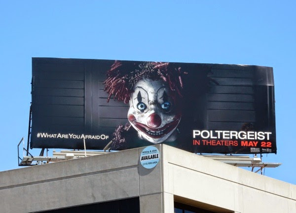Poltergeist movie remake billboard