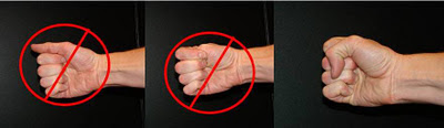 How to make a punching fist