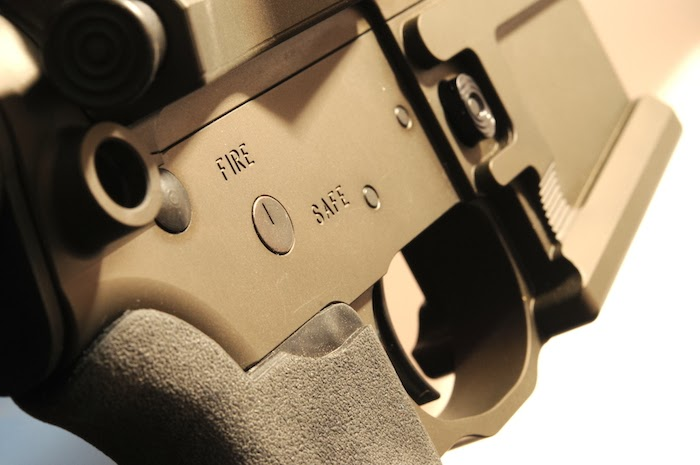 QD port, trigger, mag release