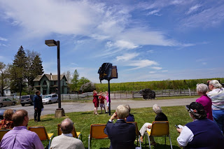 Marker_unveiling_Eckley_Miners_Village