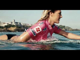 ROXY officially unveils Stephanie Gilmore at the ROXY Pro Biarritz