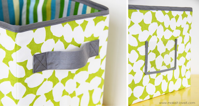 how to make fabric boxes
