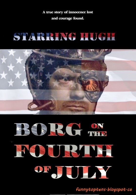 Borg on the Fourth of July Star Trek Movie Parodies