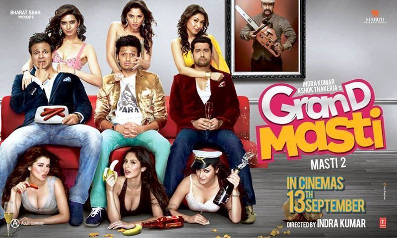 Watch Grand Masti (2013) Hindi Adult Comedy Movie Full Movie DVDRip Watch Online For Free Download