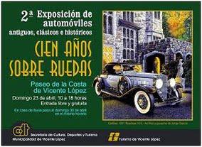 Cars Show Poster: 100 Años sobre Ruedas