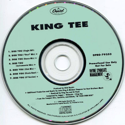 King Tee – Diss You (Promo CDS) (1990) (320 kbps)