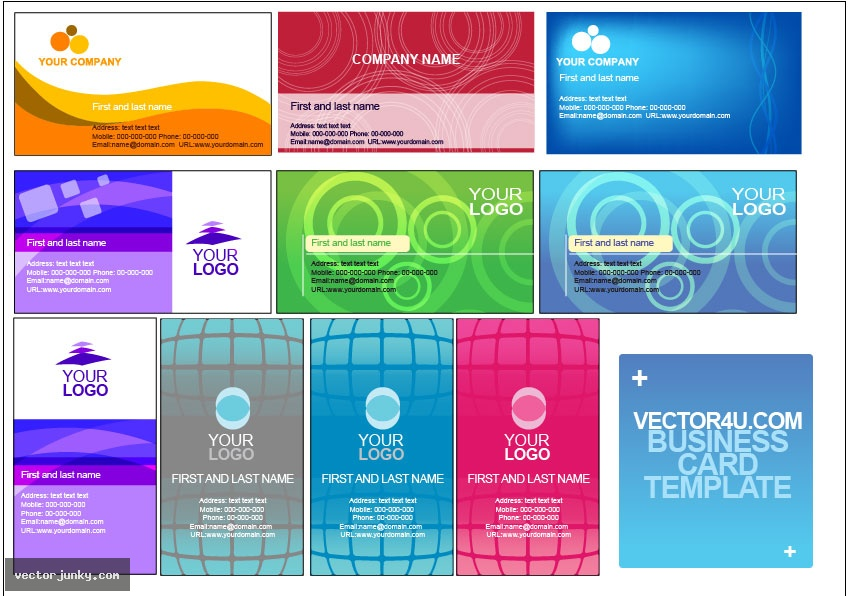 Business Card Templates Free