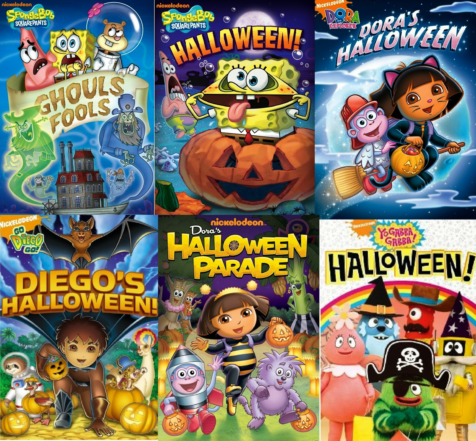crafty and wanderfull life nickelodeon halloween themed dvd roundup giveaway ends 1031