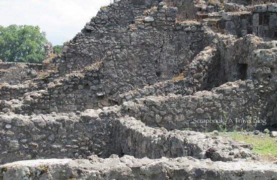 Ruins Pompeii Italy