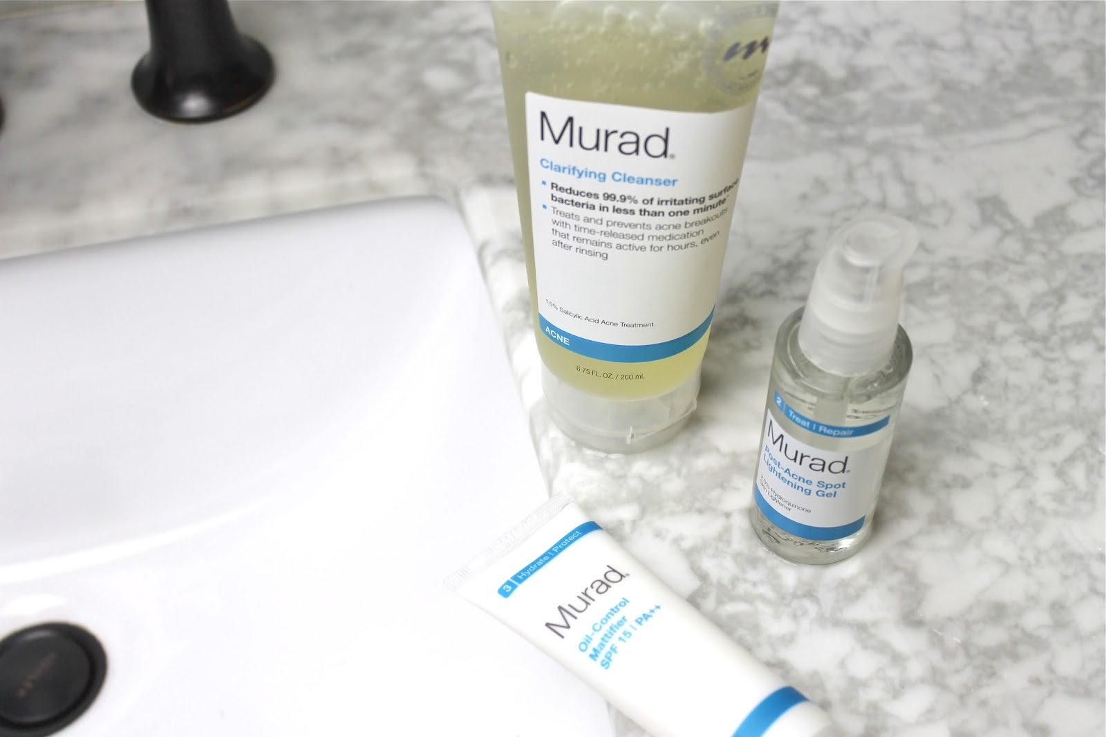 MURAD'S COMPREHENSIVE SKIN-CLEARING SYSTEM