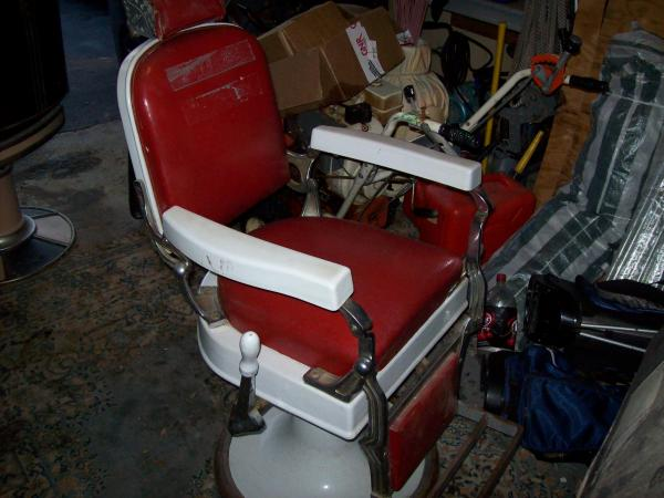Antique Barber Chairs2