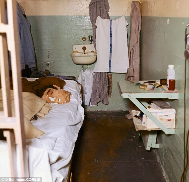 Vintage Everyday Dummy Head Used By John Anglin To Fool Prison Guards Alcatraz 1962