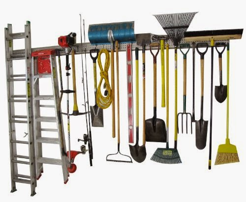 Organized Father's Day Gift Idea - Garage Organizer :: OrganizingMadeFun.com