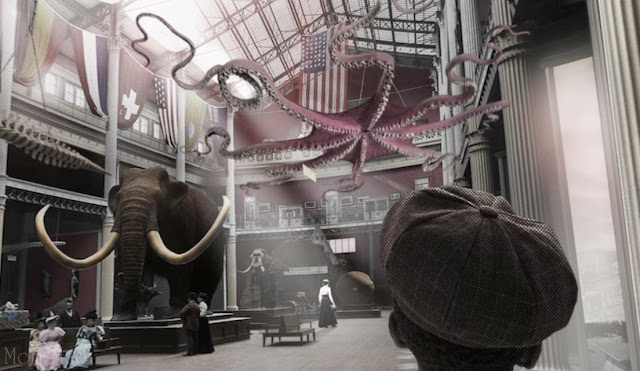 1893 World's Fair Exhibit at The Field Museum Chicago Illinois Screen Shot