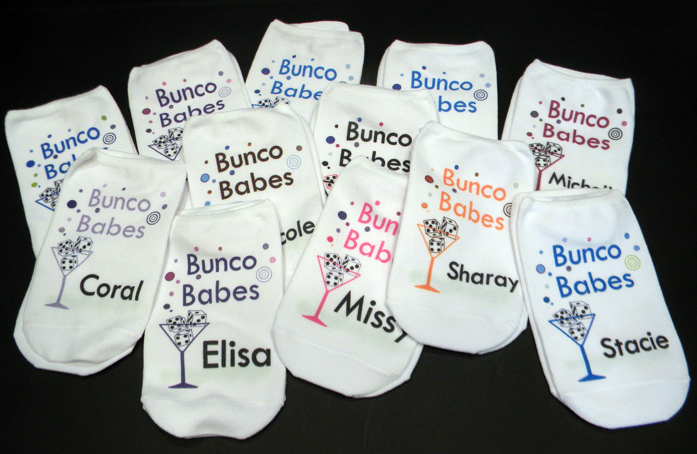 Christmas Bunco Party Ideas Part - 31: 5 Great Custom Sock Gift Ideas!