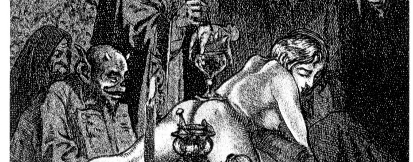 the history of witchcraft in the modern world