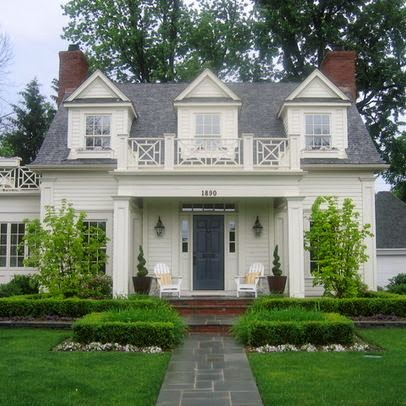 5th and state what should a landscape designer see - Traditional houses three beautiful examples ...