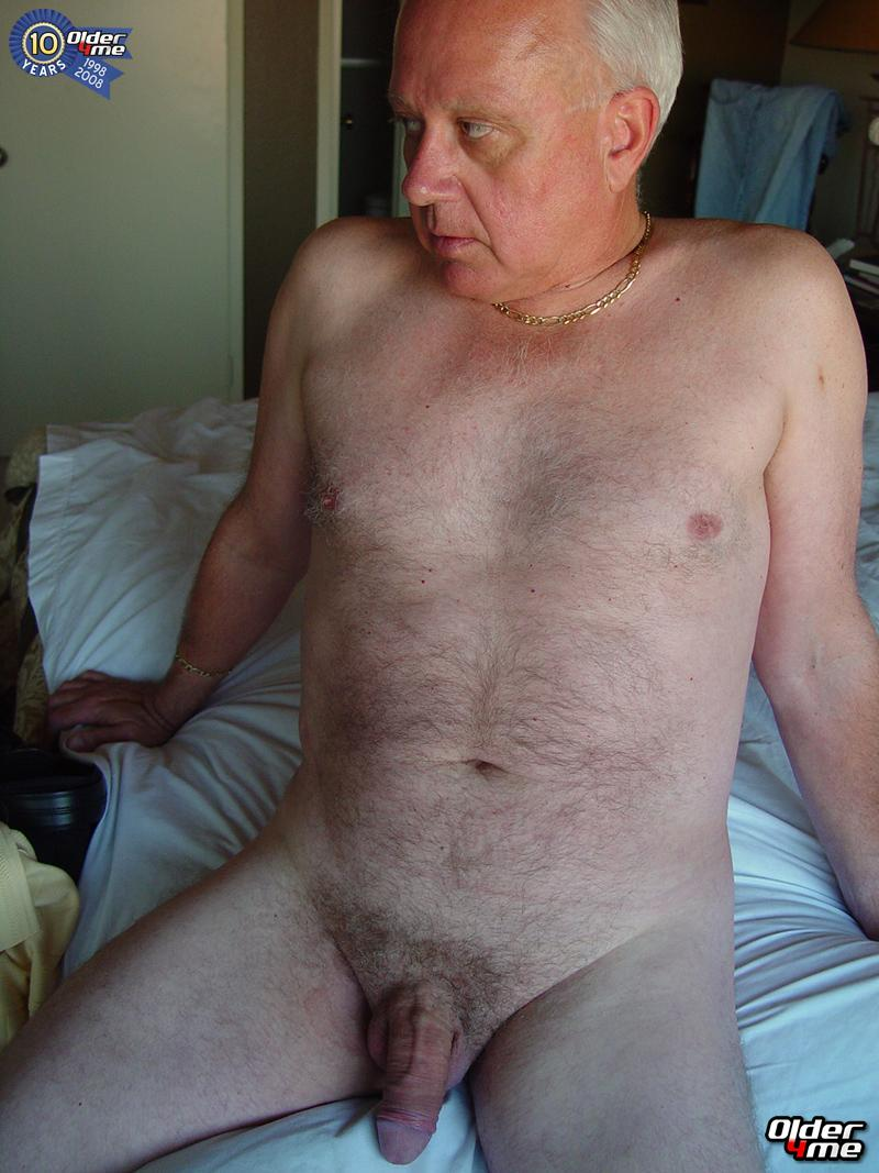 Hairy Old Men Nude Senior