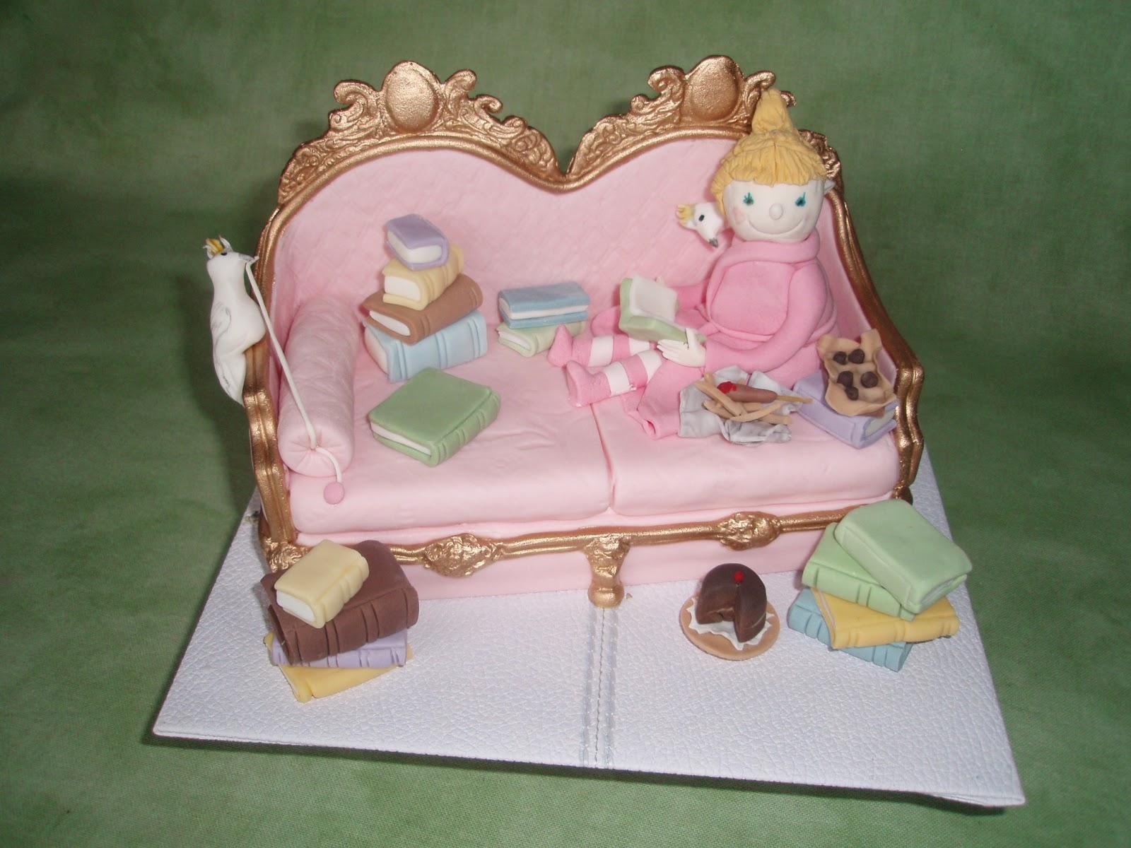 Robin Sparrow Books Birthday Cake Topper