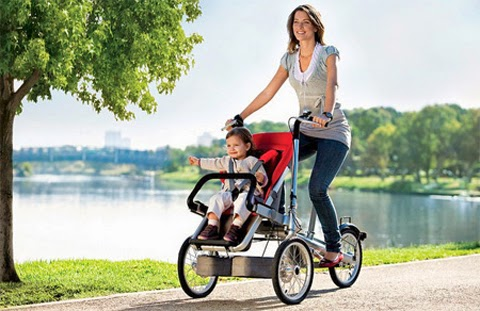 Baby Stroller Bike
