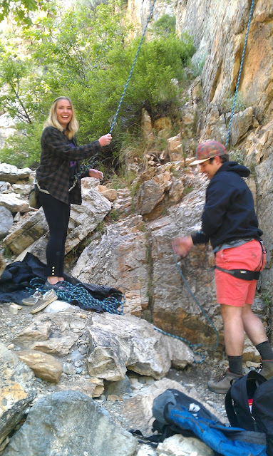 rock climbing excursion