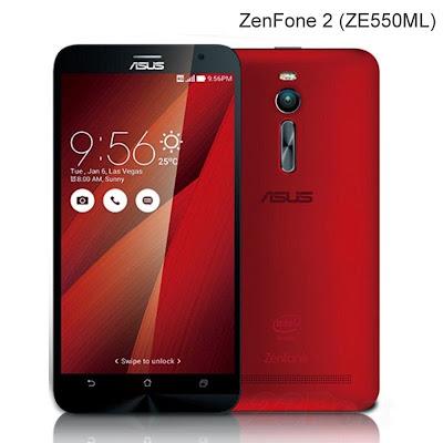 Spesifikasi dan Harga Asus Zenfone 2 Series Juni 2015