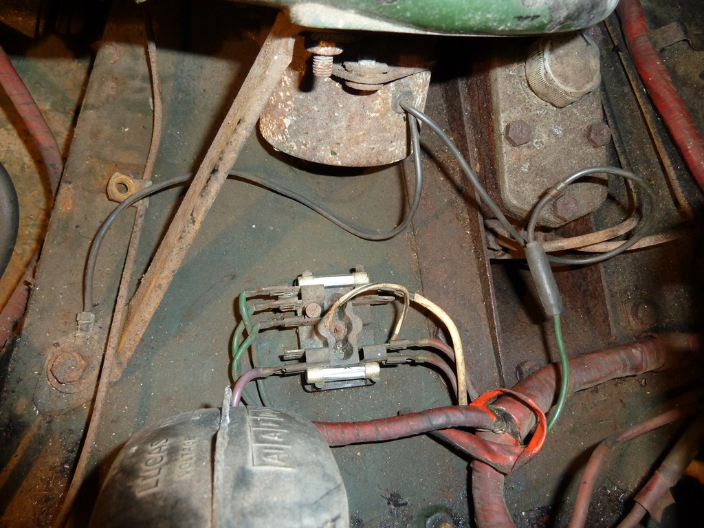 Mg Midget 1965 Mkii Restoration Project November 2012 Electrical Wiring