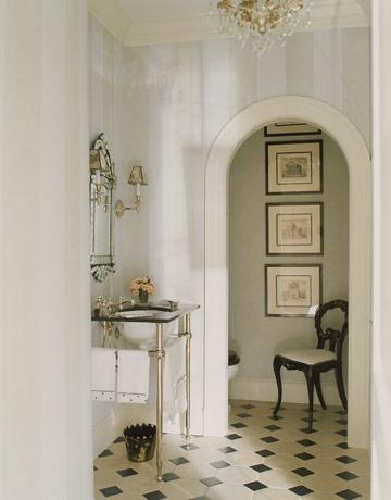 30 ideias para decorar o lavabo integrado cores da casa for House beautiful bathroom designs