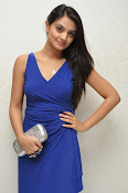Nikitha Narayan glam pics in blue-thumbnail-2