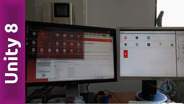 Unity 8 rodando XApps