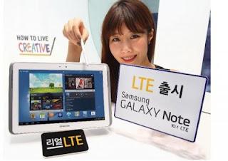 Samsung Galaxy Note 10.1 LTE Hadir 7 Maret 2013