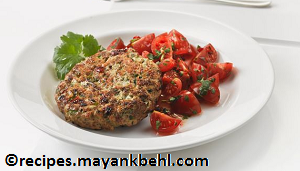 chicken-burger-with-tomato-salsa recipe