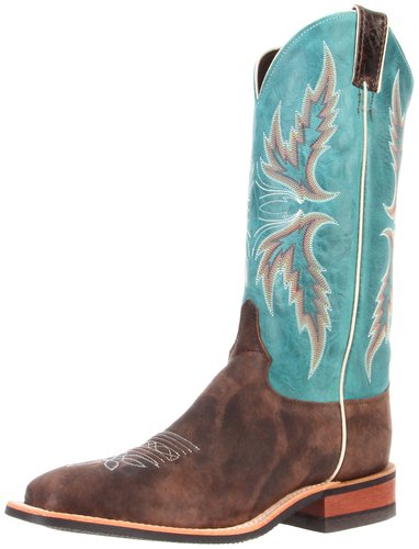 Total Fab: Turquoise Cowboy Boots for Women--Even Wide Calf Styles