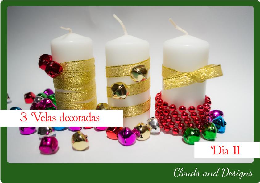 Velas de navidad aprender manualidades es - Velas decoradas para navidad ...