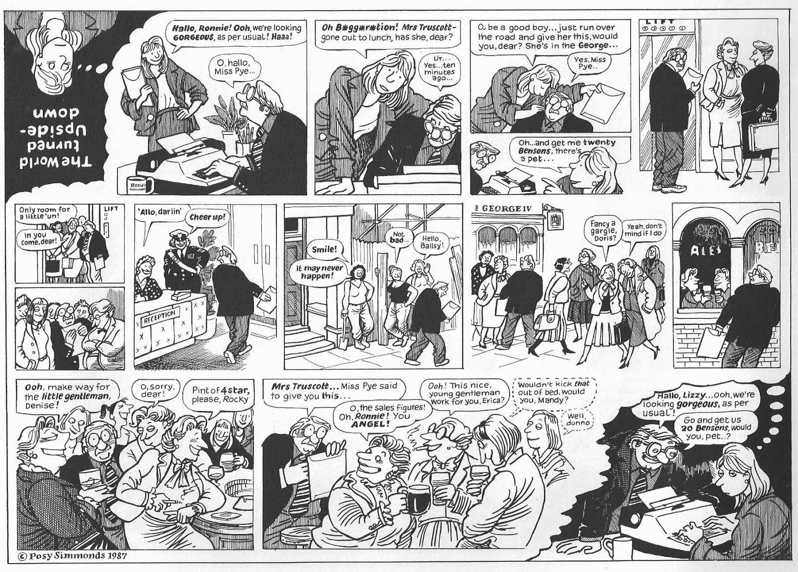 sunday comics debt: comic news summaries