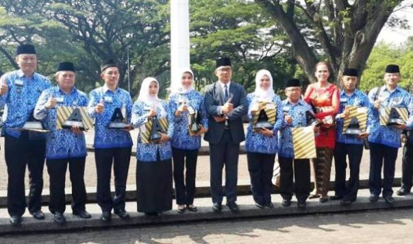 39 Lurah Berprestasi Kota Bandung