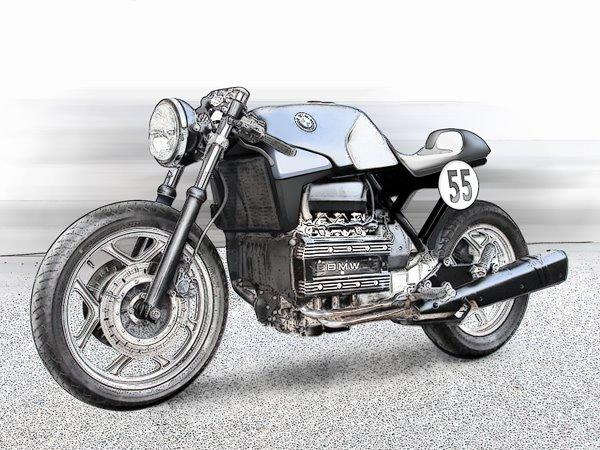 BMW K75 Cafe Racer Parts