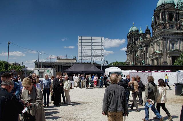 TAG DER OFFENEN BAUSTELLE, Berliner Schloss, Stadtschloss, Schlossplatz, 10178 Berlin, 01.06.2014